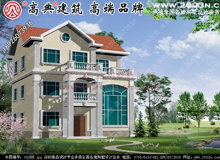 新农村别墅图14张别墅设计图 别墅图片大全 农村房屋设计图 农村房屋
