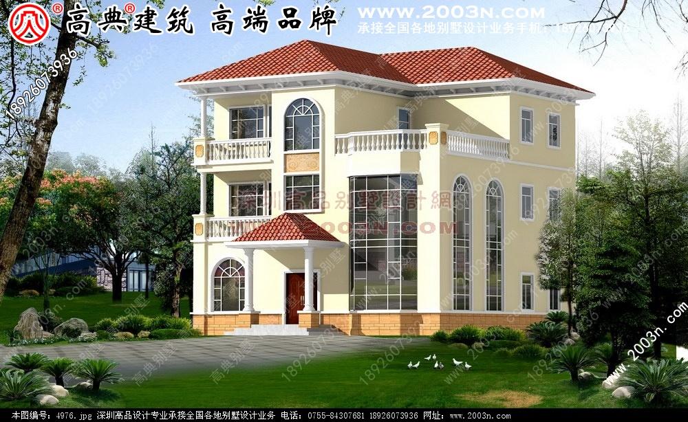最新农村别墅设计图纸别墅设计图 别墅图片大全 农村房屋设计图 农村