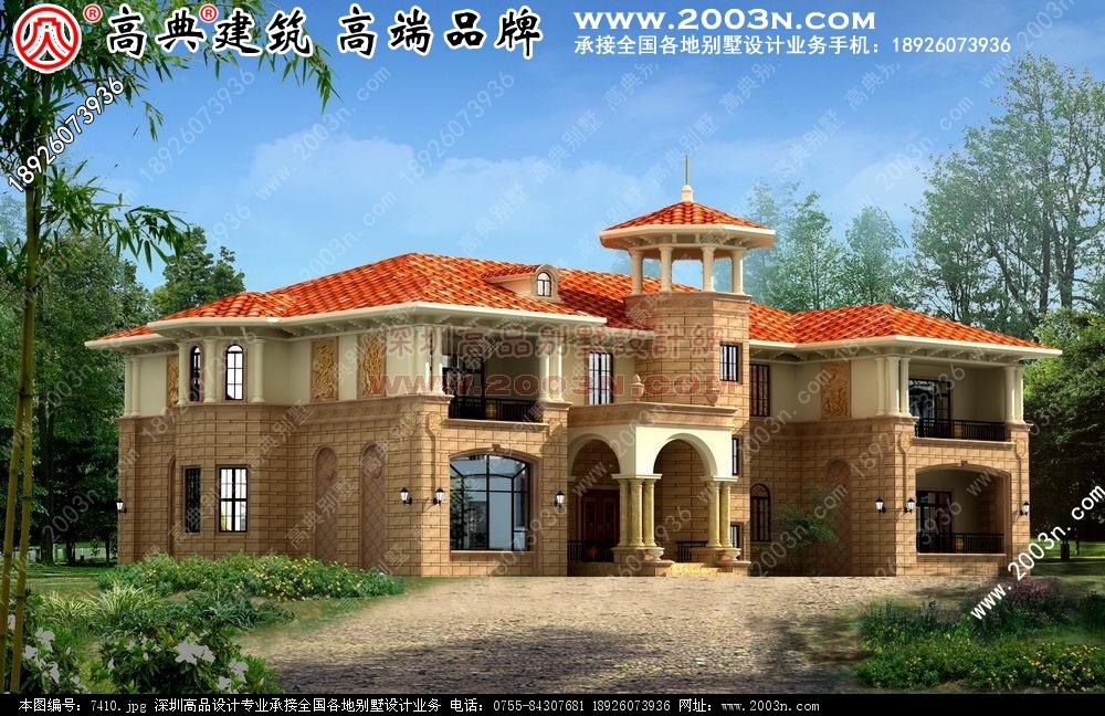 农村房屋设计图 农村房屋设计图600平方米别墅效果图大全