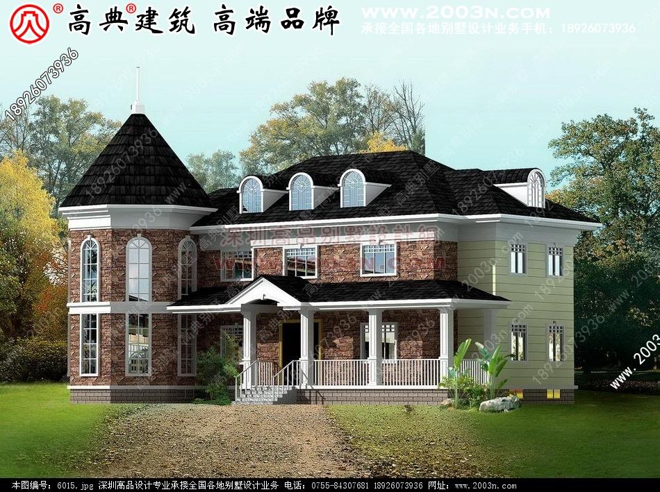 岛农村二层别墅设计图别墅设计图 别墅图片大全 农村房屋设计图 农