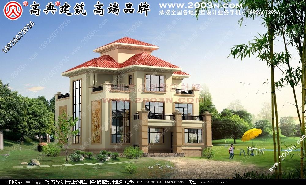 农村二层别墅设计图别墅设计图 别墅图片大全 农村房屋设