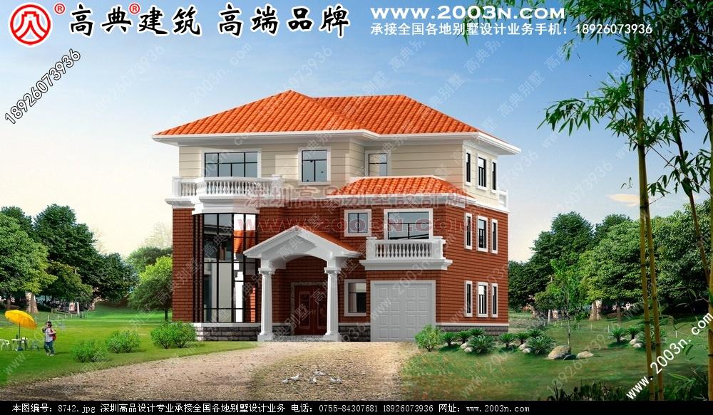 别墅设计图 别墅图片大全 农村房屋设计图