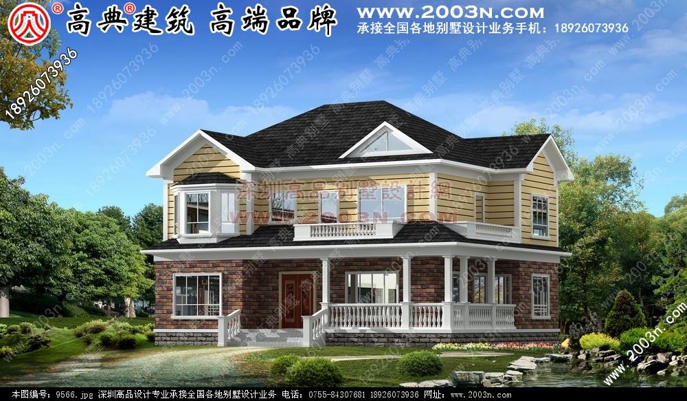 别墅设计图 别墅图片大全 农村房屋设计图 -农村别墅效果图图片