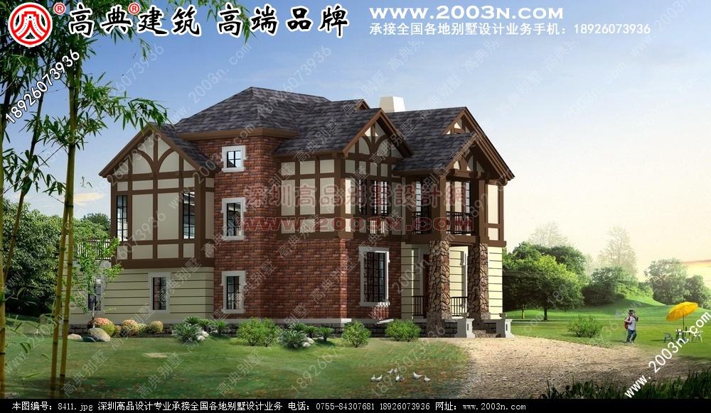 别墅设计图 别墅图片大全 农村房屋设计图 -两层别墅设计图图片