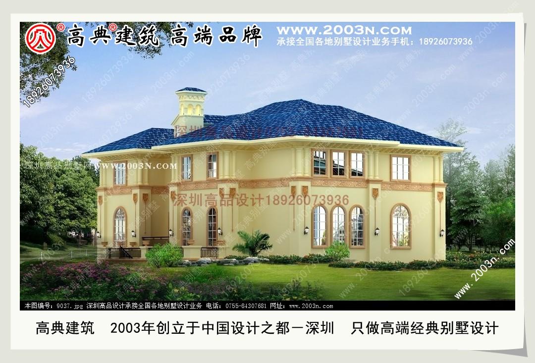 农村别墅建筑平面设计图 别墅图纸超市 深圳高品别墅设计公