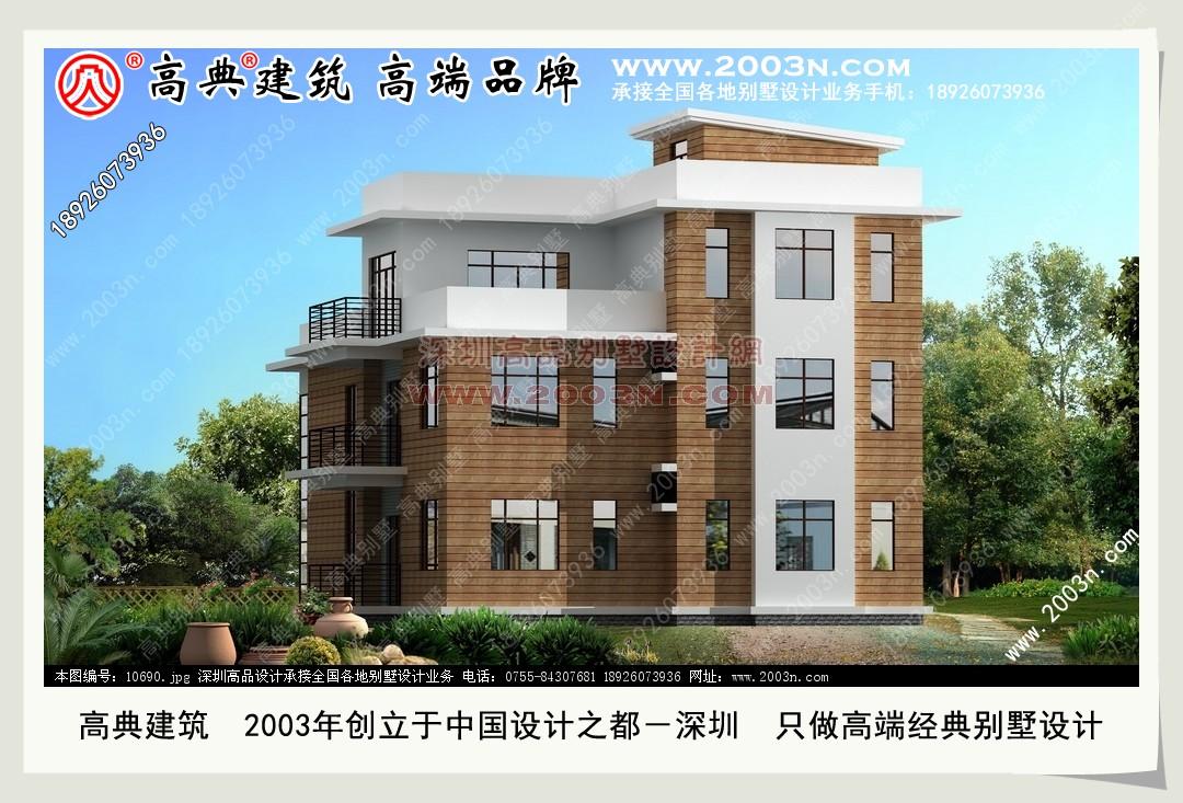 二层别墅建筑图 欧式小别墅建筑效果图 1 5