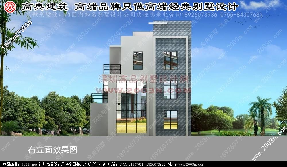 别墅建筑设计图片 别墅图纸超市 深圳高品别墅设计效果图