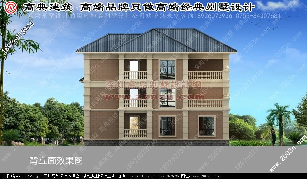 设计图 别墅图片大全 农村房屋设计图 100平方米别墅效果图